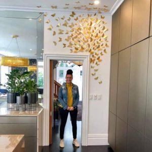 Butterflies -hung